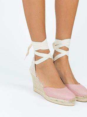 Soludos New Women's Tall Wedge Sandals