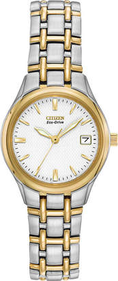 Citizen Eco-Drive Womens Two-Tone Watch EW1264-50A