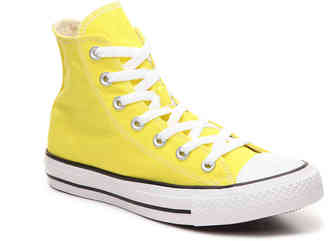 Women's Chuck Taylor All Star High-Top Sneaker -Yellow $60 thestylecure.com