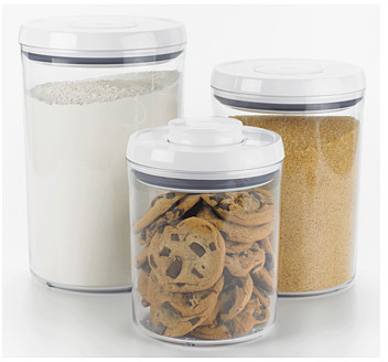 OXO Good Grips® 3-Piece POP Round Canister Set