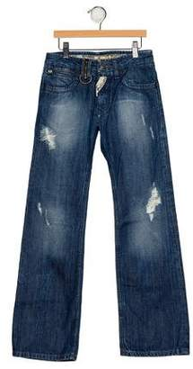 John Galliano Boys' Distressed Jeans