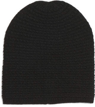 Baby Cable Knit Wool Blend Hat