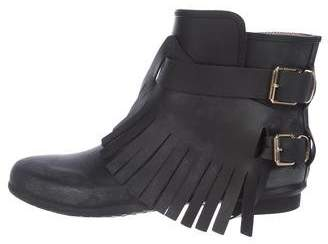 Burberry Rubber Ankle Booties