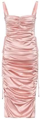 Dolce & Gabbana Stretch-silk midi dress