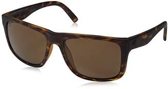 Electric Visual Swingarm XL Matte Tortoise/OHM Polarized Bronze Sunglasses