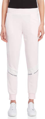 Juicy Couture Logo Tape French Terry Joggers