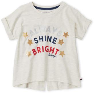 Tommy Hilfiger Girls 7-16) Shine Bright Tee