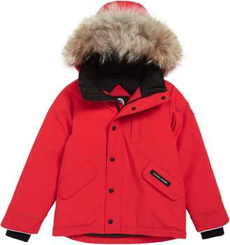 12034cea54c5 Canada Goose Red Girls  Clothing - ShopStyle