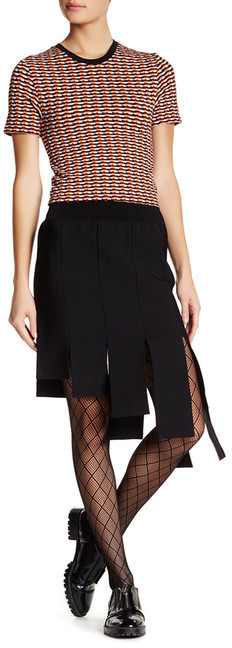 Opening Ceremony Opening Ceremony Asymmetric Panel Skirt