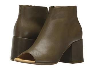 MM6 MAISON MARGIELA Deconstructed Open Toe Bootie Women's Boots