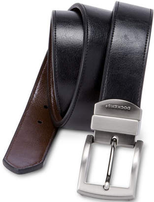 Dockers Bridle Reversible Leather Belt-Big & Tall