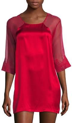 La Perla Women's Silk Blend Sleepshirt