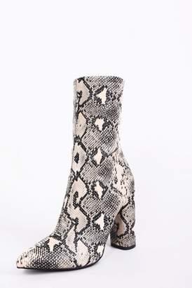 Next Womens Glamorous Snake Print Boots