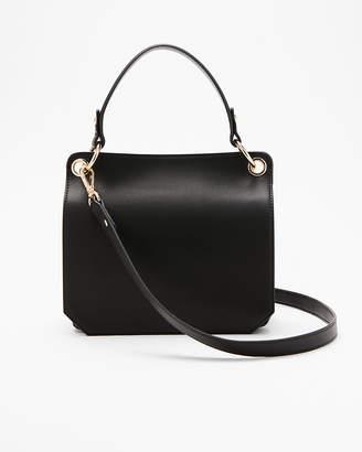 Express Double Zip Front Flap Crossbody Bag