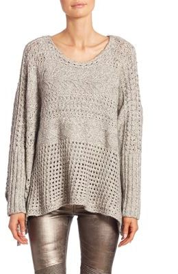 Polo Ralph Lauren Cotton & Wool Knit Sweater $298 thestylecure.com