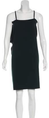 Lanvin Wool-Blend Asymmetrical Dress