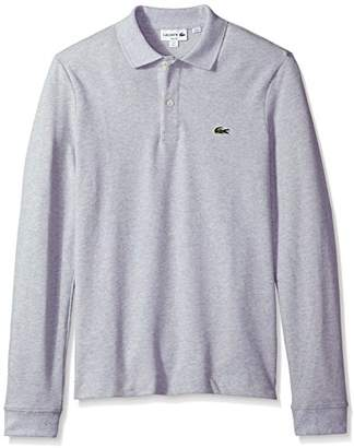 Lacoste Men's Long Sleeve Classic Slim FIT Pique Polo
