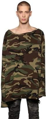 Faith Connexion Camouflage Printed Sweatshirt