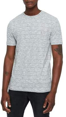 AllSaints Tonic San Slim Fit Stripe T-Shirt