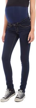 Modern Eternity Womens Basic Skinny Leg Maternity Jeans