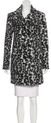 Rebecca Minkoff Wool-Blend Knee-Length Coat