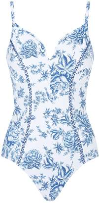 Seafolly Lovebird Floral Swimsuit