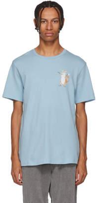 Acne Studios Blue Fox Print T-Shirt