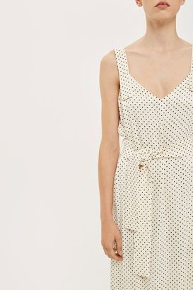 Boutique Polka dot slip dress