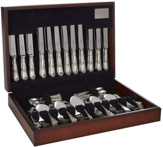 Regence Carrs Silver La Stainless Steel 62-Piece Canteen