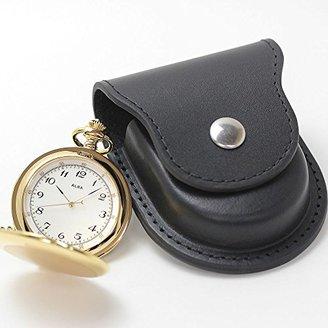 Alba (アルバ) - [セイコーアルバ] セイコー アルバ(SEIKO ALBA)懐中時計AABW146と正美堂オリジナル革ケース(ブラック) セット