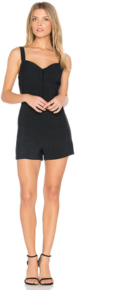 J.O.A. Front Button Down Romper $90 thestylecure.com