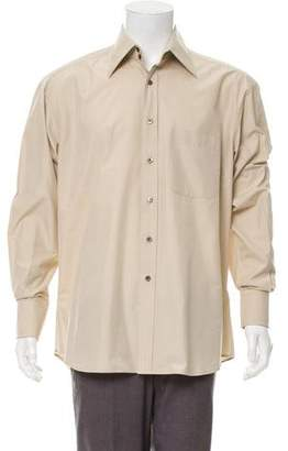 Gucci Silk-Blend Dress Shirt