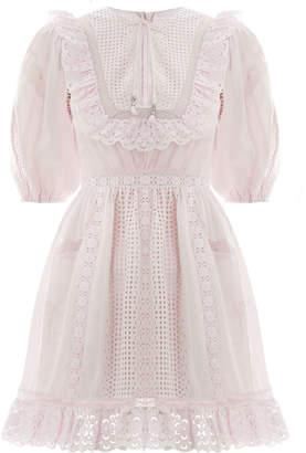 Zimmermann Laelia Pannelled Short Dress