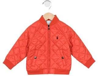 Ralph Lauren Boys' Quilted Zip-Up Jacket