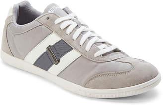 Diesel Light Grey & White Hours Vintagy Lounge Low Top Sneakers