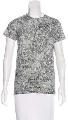 3.1 Phillip Lim Printed Jersey T-Shirt