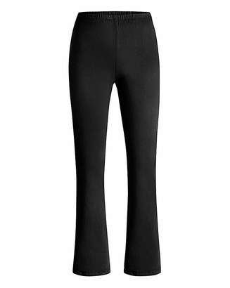 fa101b5033f Black Fitted Bootcut Trousers - ShopStyle UK