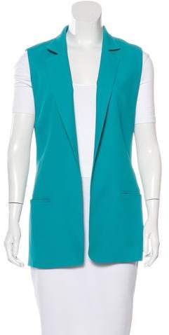 Alexander Wang Alexander Wang High-Collared Notched Vest