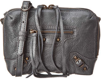 Balenciaga Classic Reporter Xs Leather Crossbody