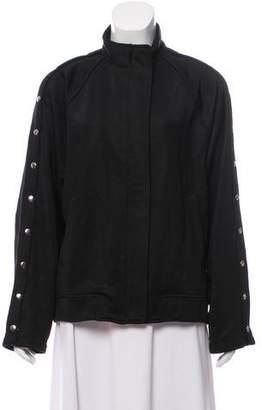 Alexander Wang Oversize Mock Neck Jacket
