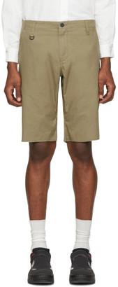 Moncler Genius 7 Fragment Hiroshi Fujiwara Brown Bermuda Shorts
