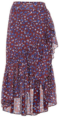 Ulla Johnson Gretchen cotton and silk-blend skirt