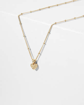 Ted Baker HAROW Heart to heart pendant necklace