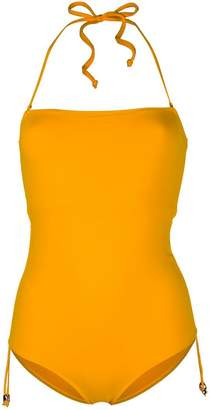 Tara Matthews Caspio halterneck swimsuit