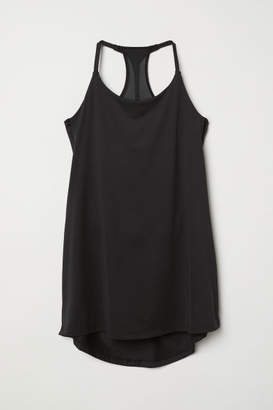 H&M Sports Tank Top with Bra - Black