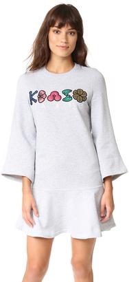 KENZO Sweatshirt Dress $355 thestylecure.com