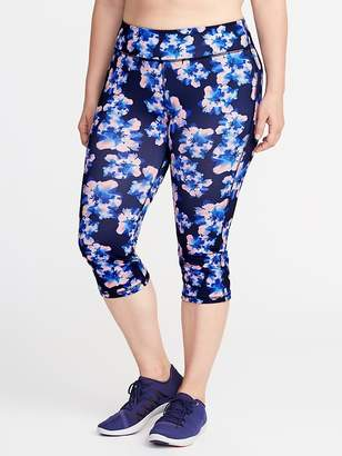 Old Navy Plus-Size High-Rise Compression Capris
