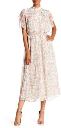 Isabel Garcia Floral Midi Dress