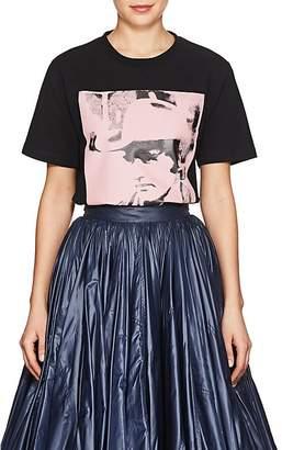 """Calvin Klein Women's """"Dennis Hopper"""" Cotton Jersey T-Shirt"""
