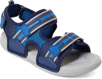 138e53e1dc Geox Kids Boys) Navy & Royal Ultrak Sandals